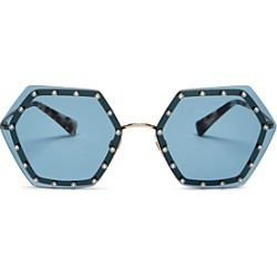 Valentino Women's Rimless Embellished Geometric Sunglasses, 62mm found on Bargain Bro India from Bloomingdale's Australia for $455.13
