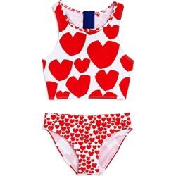 Stella McCartney Girls' Heart Print Two-Piece Swimsuit - Little Kid