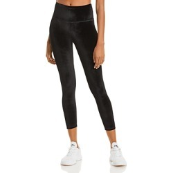 Aqua Athletic High Rise Velvet Ankle Leggings - 100% Exclusive found on Bargain Bro from Bloomingdales Canada for USD $40.83