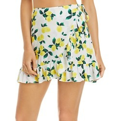 Aqua Swim Ruffled Mini Skirt Cover Up - 100% Exclusive found on Bargain Bro from Bloomingdales Canada for USD $54.44