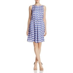 Armani Collezioni Wave-Print Dress found on MODAPINS from Bloomingdales UK for USD $547.02