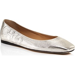 Jimmy Choo Women's Gwenevere Square-Toe Flats found on Bargain Bro UK from Bloomingdales UK