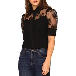 Gracia Sheer Lace Blouse (43% off) - Comparable value $88 found on Bargain Bro Philippines from Bloomingdale's Australia for $53.31