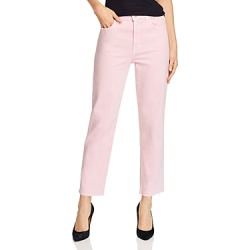 J Brand Jules High-Rise Straight-Leg Jeans in Anemone - 100% Exclusive found on MODAPINS from Bloomingdale's Australia for USD $73.66