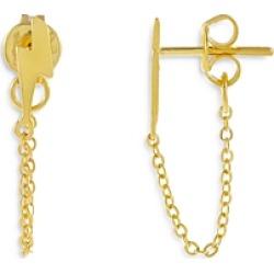 Lightning Bolt Draped Chain Earrings found on Bargain Bro UK from Bloomingdales UK