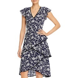 Adrianna Papell Floral Print Tiered Dress found on MODAPINS from Bloomingdales UK for USD $159.23