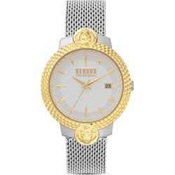 Versus Versace Versus Mouffetard Two-Tone Mesh Bracelet Watch, 38mm found on Bargain Bro Philippines from Bloomingdale's Australia for $162.74