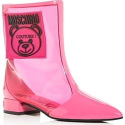 Moschino Women's Teddy Bear Pointed-Toe Boots found on Bargain Bro Philippines from bloomingdales.com for $525.00