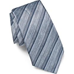 John Varvatos Star Usa Linen Tonal Stripe Classic Tie found on Bargain Bro India from Bloomingdale's Australia for $77.83