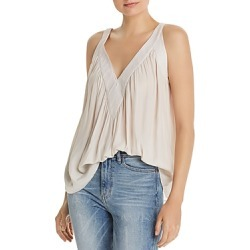 Ramy Brook Nola Embroidered Trapeze Top found on Bargain Bro UK from Bloomingdales UK