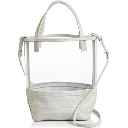 Alice.d Small Clear & Leather Tote - 100% Exclusive found on MODAPINS from Bloomingdale's Australia for USD $178.22