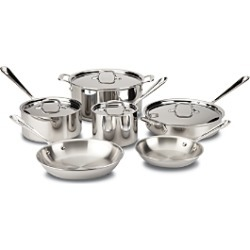 All Clad Stainless Steel 10-Piece Set found on Bargain Bro India from Bloomingdales Canada for $727.09