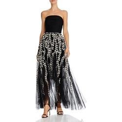 Bcbgmaxazria Strapless High/Low Gown