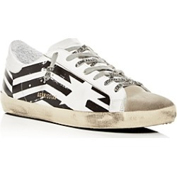 Golden Goose Deluxe Brand Unisex Superstar Leather Flag Low-Top Sneakers found on Bargain Bro UK from Bloomingdales UK