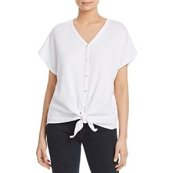 Elan Ribbed Tie-Front Top found on Bargain Bro India from Bloomingdale's Australia for $32.51