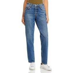 Grlfrnd Helena Straight Jeans in Over Here found on MODAPINS from Bloomingdales UK for USD $262.28