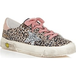 Golden Goose Deluxe Brand Girls' May Leopard Print Low Top Sneakers - Toddler, Little Kid found on Bargain Bro UK from Bloomingdales UK
