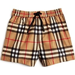 Burberry Boys' Galvin Check Swim Trunks - Baby
