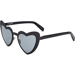 Saint Laurent Women's Lou Lou Mirrored Heart Sunglasses, 55mm found on Bargain Bro Philippines from bloomingdales.com for $294.00