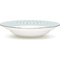 Brian Gluckstein by Lenox Clara Aqua Rimmed Soup Bowl found on Bargain Bro UK from Bloomingdales UK
