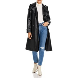 Apparis Lucia Faux-Leather Trench Coat found on Bargain Bro Philippines from bloomingdales.com for $370.00