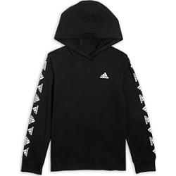 Adidas Boys' Cotton Hooded Tee - Little Kid found on Bargain Bro UK from Bloomingdales UK