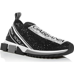 Dolce & Gabbana Women's Sorrento Crystal Slip-On Sneakers found on Bargain Bro India from bloomingdales.com for $1295.00