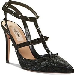 Valentino Garavani Women's Rockstud Ankle Strap High-Heel Sandals found on Bargain Bro India from bloomingdales.com for $1275.00
