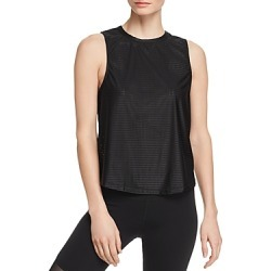 Aqua Athletic Twist-Back Mesh Tank - 100% Exclusive found on Bargain Bro India from Bloomingdale's Australia for $13.31