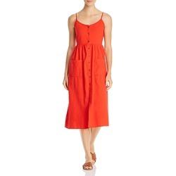 Vero Moda Wanda Button-Front Cotton Midi Dress found on Bargain Bro UK from Bloomingdales UK