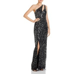 Aidan Mattox One-Shoulder Column Gown found on MODAPINS from Bloomingdales UK for USD $528.98