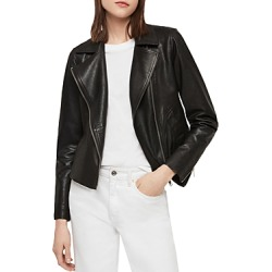 Allsaints Vela Leather Biker Jacket found on Bargain Bro Philippines from Bloomingdales Canada for $474.08
