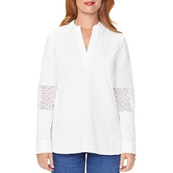 Nydj Floral-Panel Popover Tunic Top found on Bargain Bro Philippines from bloomingdales.com for $53.40