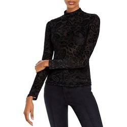 Fore Knit Paisley Burnout Turtleneck found on Bargain Bro from Bloomingdales Canada for USD $24.38