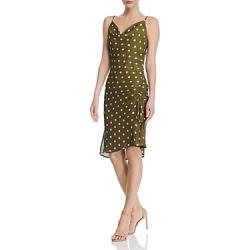 Chriselle Lim Cowl-Neck Polka Dot Slip Dress found on Bargain Bro India from Bloomingdale's Australia for $35.95