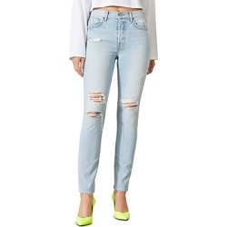 Grlfrnd Karolina Ripped Skinny Jeans in Don't Speak found on MODAPINS from Bloomingdales Canada for USD $240.90