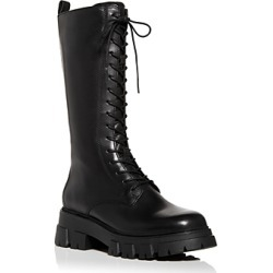 Ash Women's Lullaby Block Heel Platform Tall Combat Boots found on MODAPINS from bloomingdales.com for USD $360.00