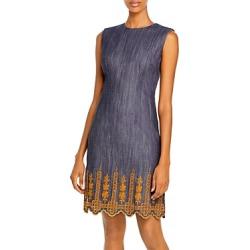 Adam Lippes Embroidered Sheath Dress