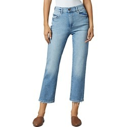 DL1961 Patti High Rise Straight Leg Jeans in Reef found on Bargain Bro India from Bloomingdale's Australia for $209.84