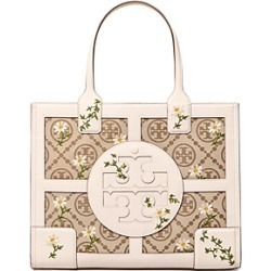 Tory Burch Ella Small Embroidered Jacquard Tote found on Bargain Bro UK from Bloomingdales UK