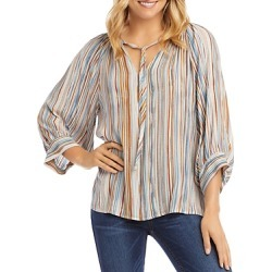 Karen Kane Striped Peasant Top found on Bargain Bro India from Bloomingdale's Australia for $75.66