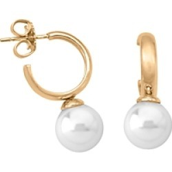 Majorica Simulated Pearl Hoop Earrings in Gold-Plated Sterling Silver found on Bargain Bro Philippines from Bloomingdale's Australia for $70.90