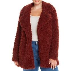 Vero Moda Curve Faux-Fur Coat found on Bargain Bro India from Bloomingdale's Australia for $90.04