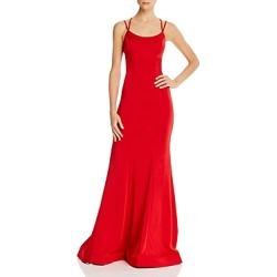 Faviana Couture Lace-Up Gown found on MODAPINS from Bloomingdales UK for USD $318.45