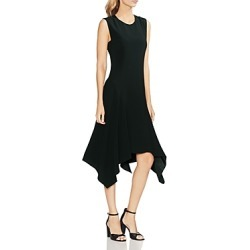 Vince Camuto Satin Handkerchief Midi Dress found on MODAPINS from Bloomingdales UK for USD $44.12