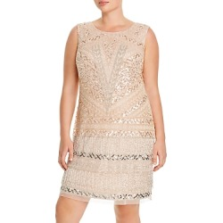 Adrianna Papell Plus Beaded Fringe Cocktail Dress found on Bargain Bro India from Bloomingdales Canada for $188.10