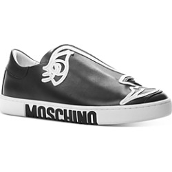 Moschino Women's Abstract Face Slide Shoe found on Bargain Bro India from Bloomingdale's Australia for $508.05