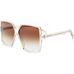 Saint Laurent Women's Betty Oversized Square Sunglasses, 63mm found on Bargain Bro Philippines from bloomingdales.com for $405.00