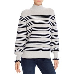 La Vie Rebecca Taylor Striped Blouson-Sleeve Sweater - 100% Exclusive found on Bargain Bro Philippines from bloomingdales.com for $206.50