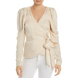 Alice McCall Blue Moon Wrap Blouse found on MODAPINS from Bloomingdale's Australia for USD $292.83